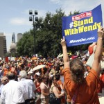 Austin State Capitol Building Abortion Protest