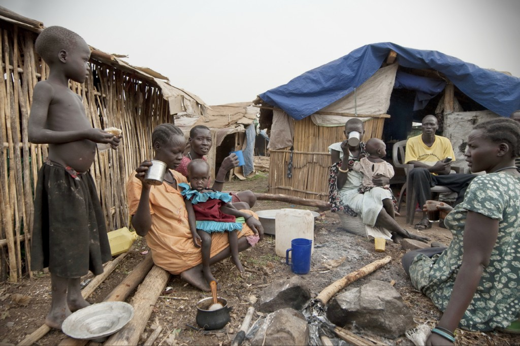 Juba South Sudan displaced persons camp