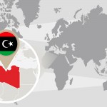 Save Download Preview World Map With Magnified Libya